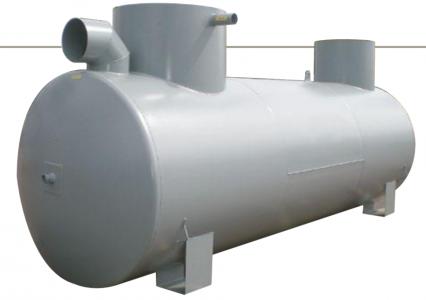 Plieninis naftos skirtuvas